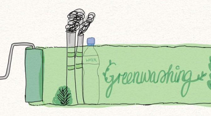 Behind the green – Tips on how to spot and avoid Greenwashing