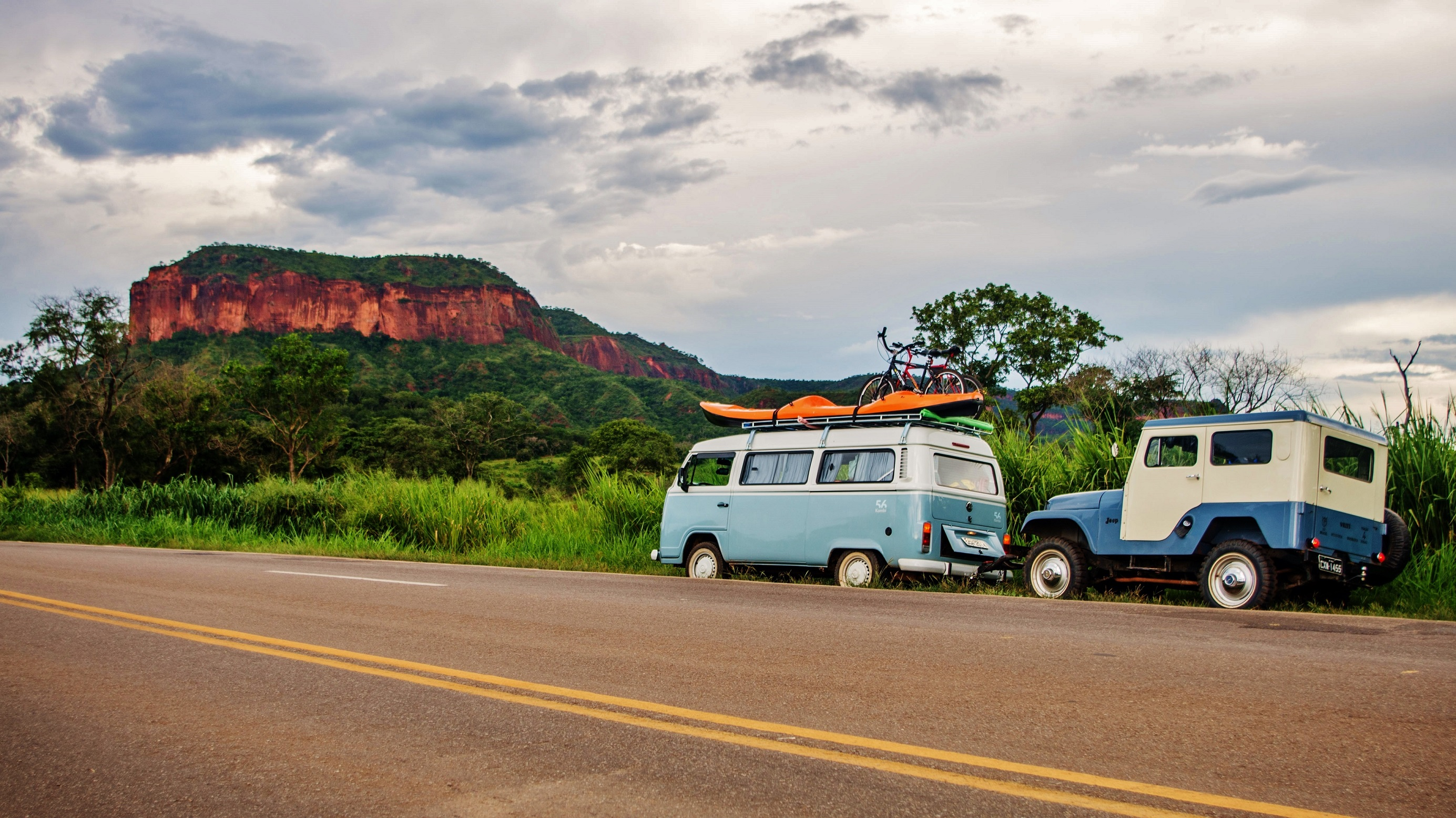Brazilian road trip in a VW Kombi