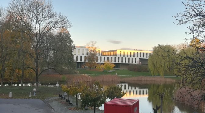 A look behind the curtain – The student union at the University of Augsburg