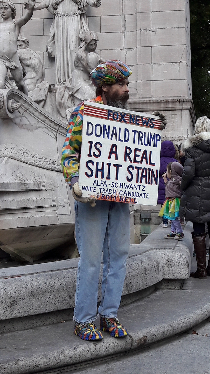 New York City – aftermath of the election