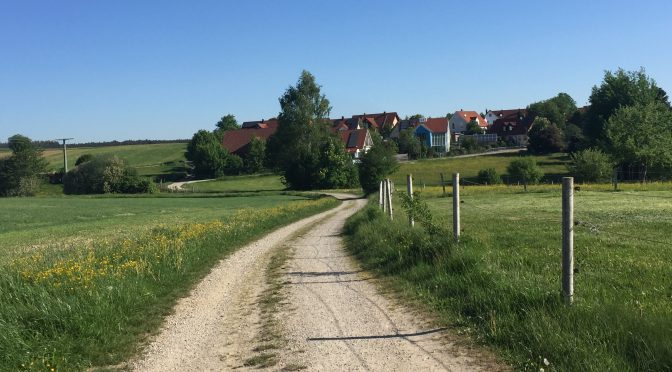 Just around the corner! – Moving from small village life to Augsburg